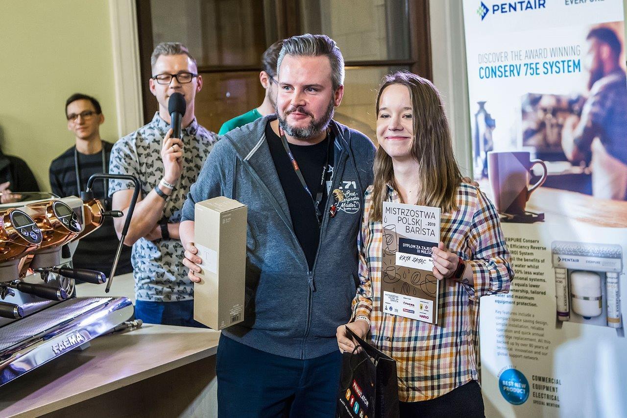 Kaja Zając 3. miejsce w Mistrzostwa Polski Barista 2019