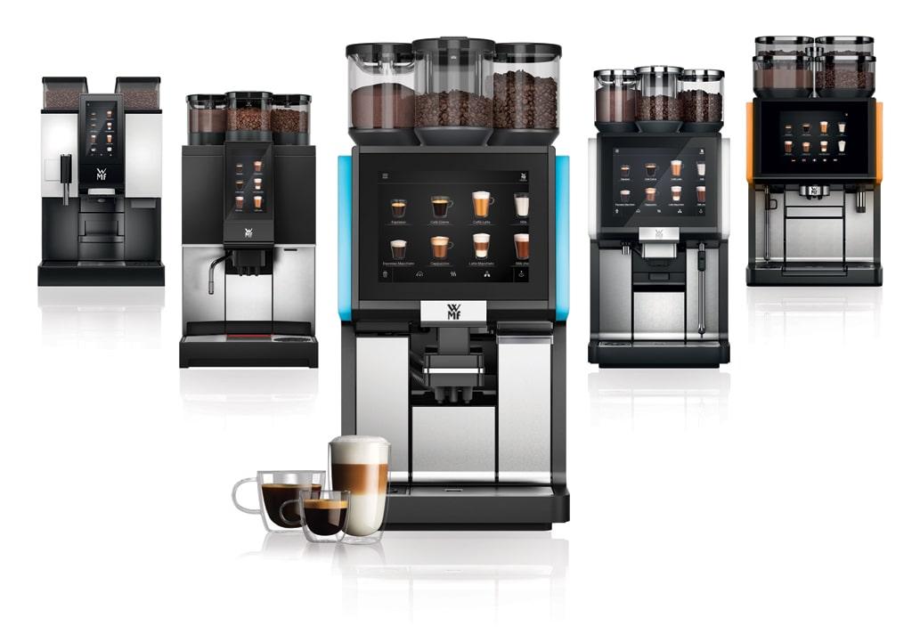 Automatyczne profesjonalne ekspresy do kawy gastronomiczne WMF