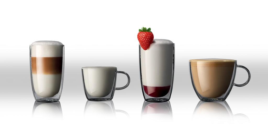 Napoje mleczne z kawą profesjonalny ekspres automatyczny