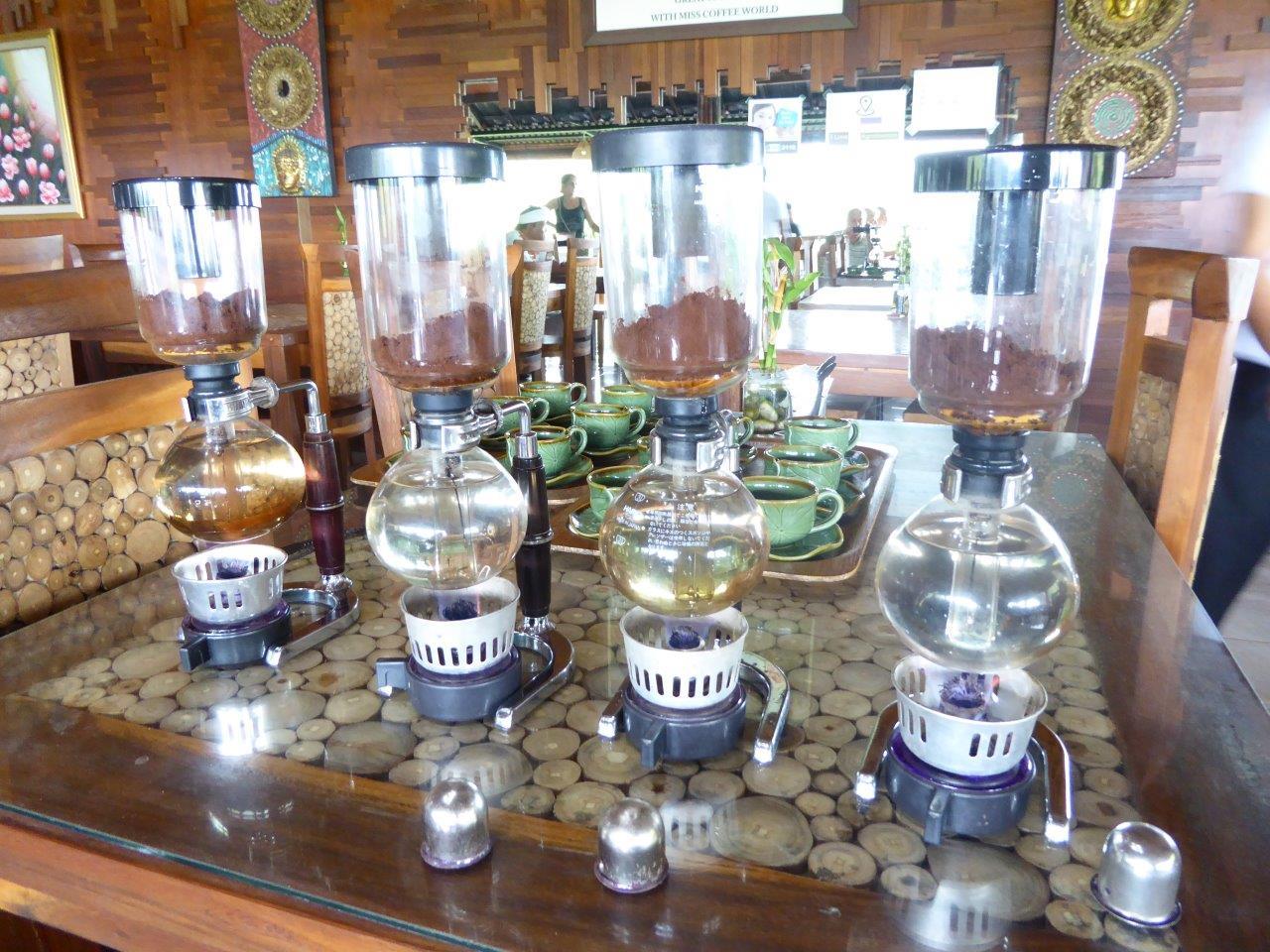 "Parzenie kawy metodą ""Siphon"""