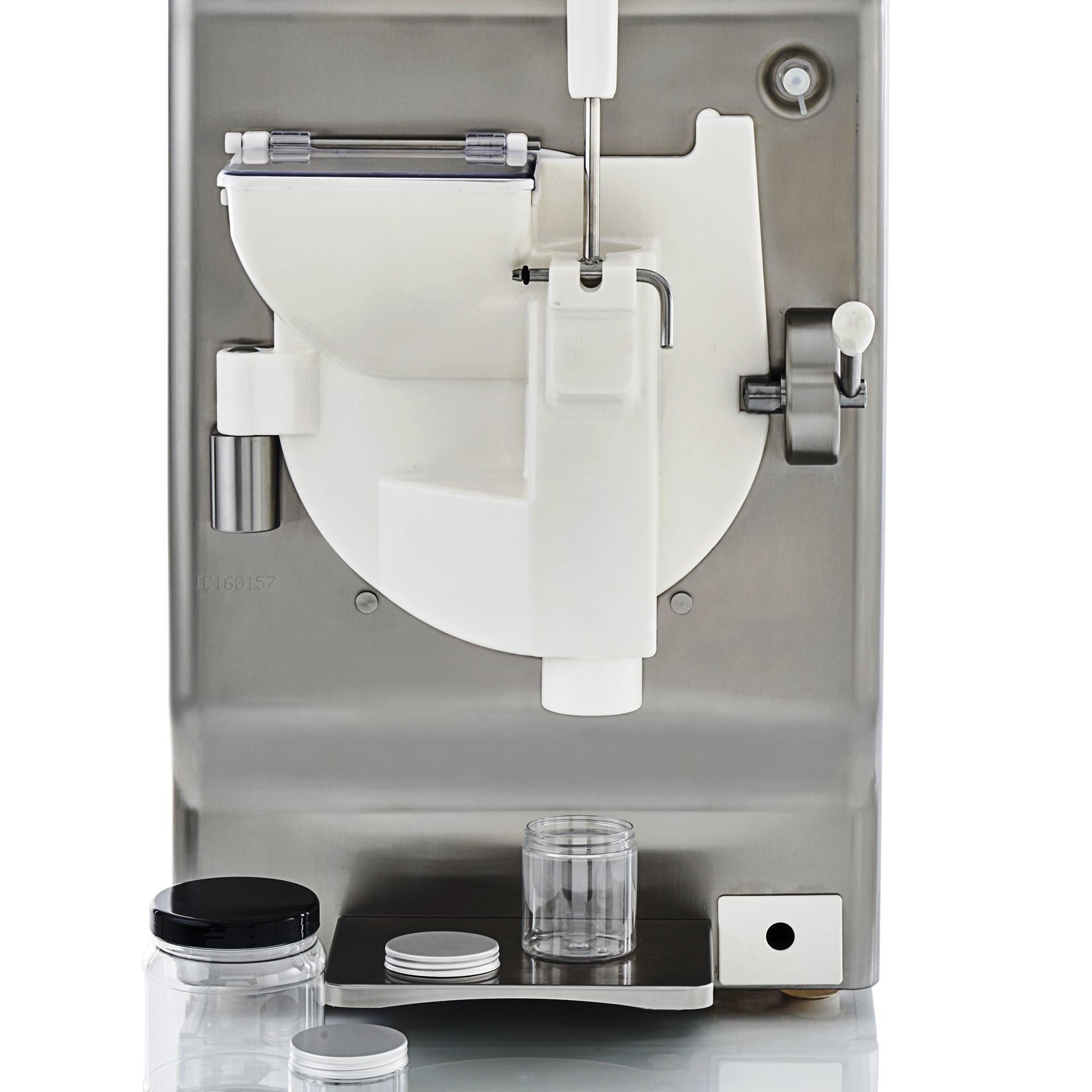 Maszyna do lodów z opcją napełniania słoików na wynos