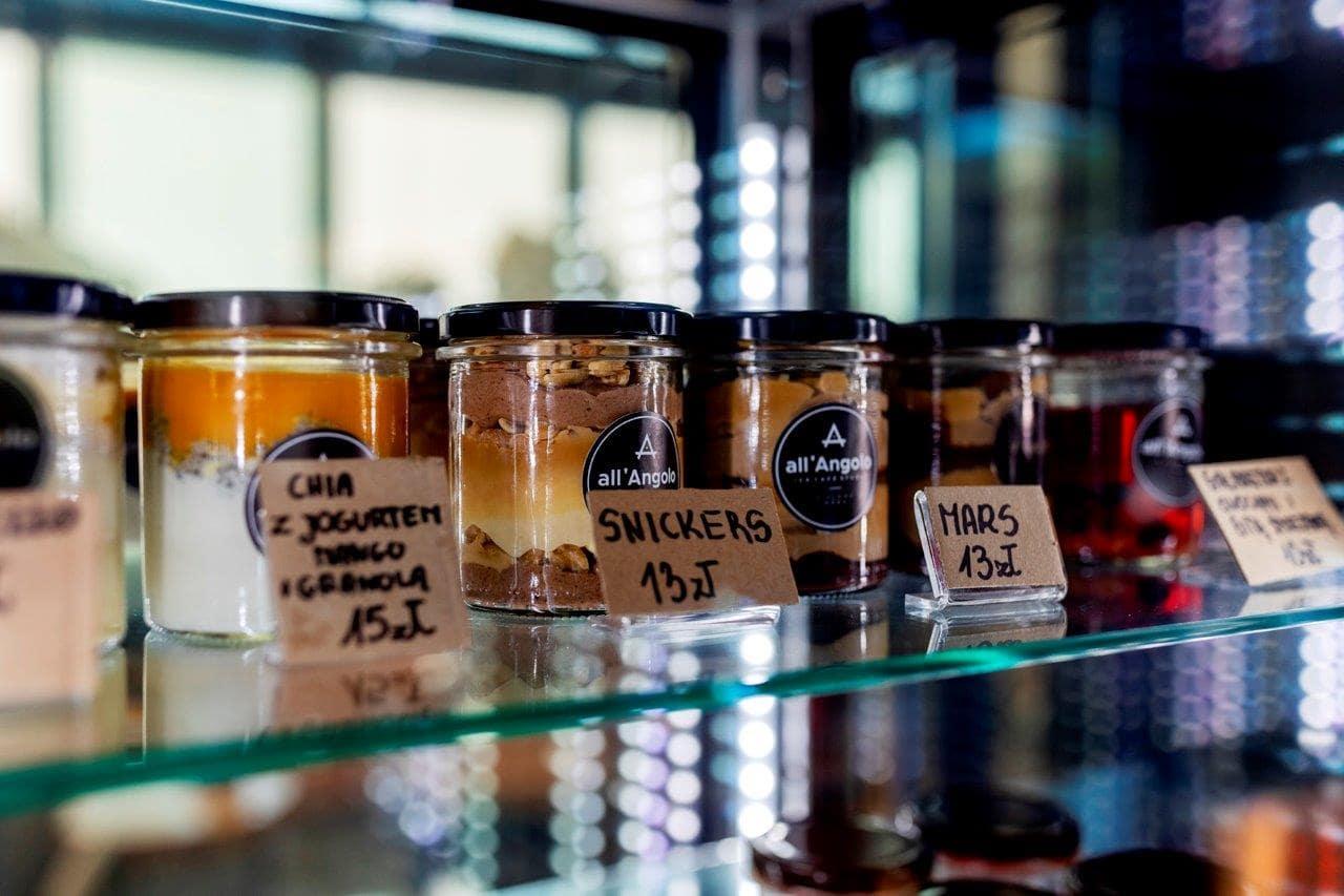Lody naturalne na wynos w słoikach