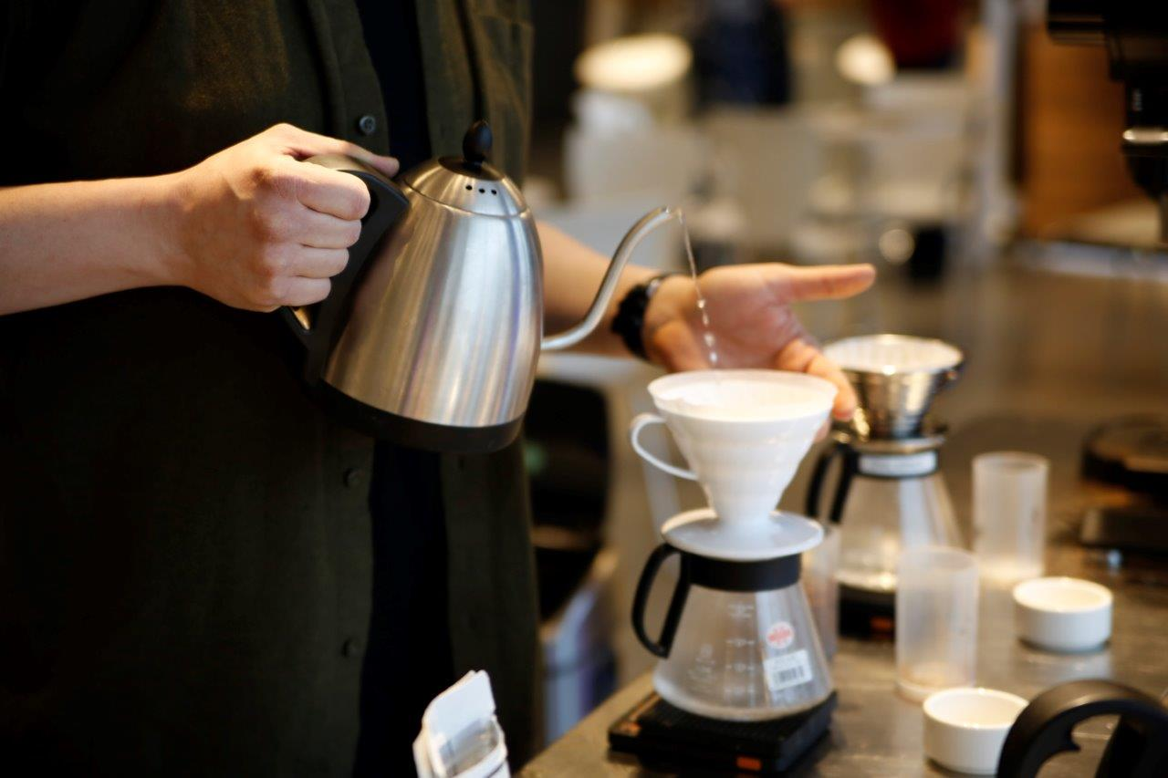 Parzenie kawy alternatywną metodą Drip