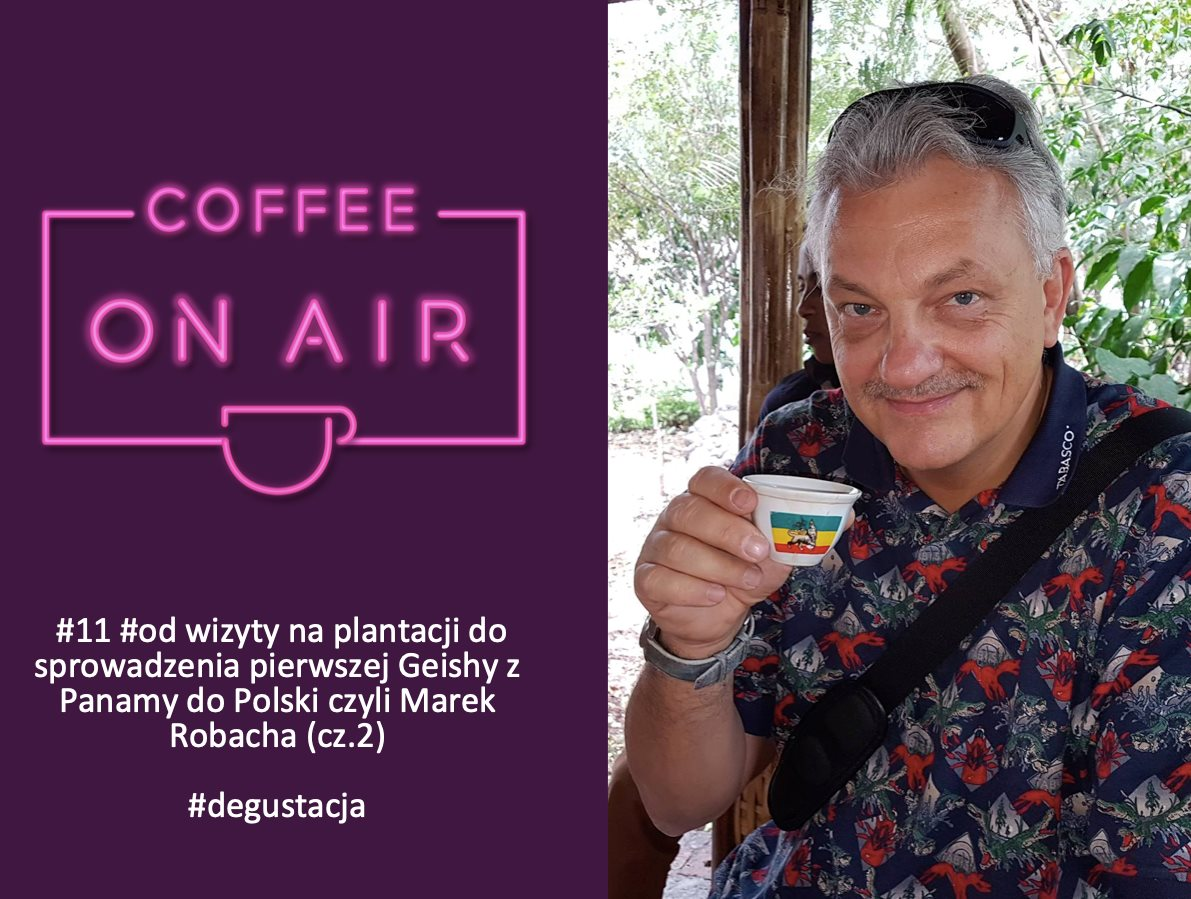 Marek Robacha coffee on air podcast