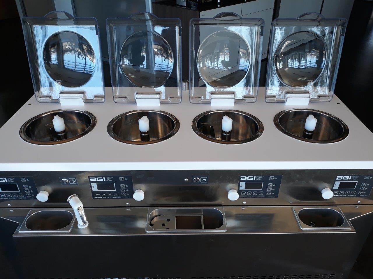 Maszyna do lodów z konserwatorem BGItaly CC 400