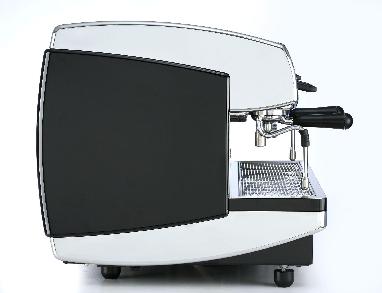 Ekspres do kawy z boku