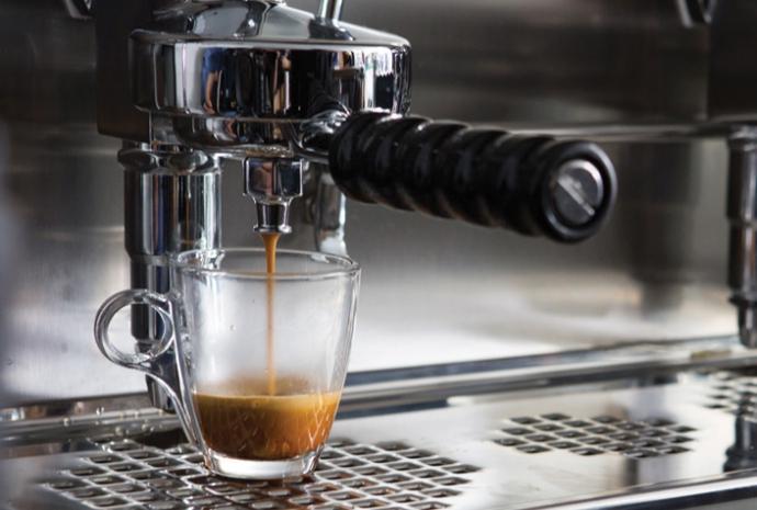 espresso parzone przez ekspres faema
