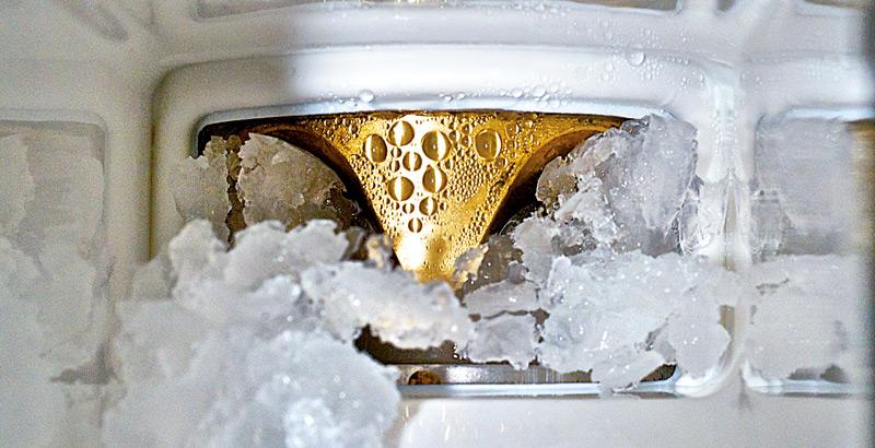 Lód łuskowy produkowany przez Łuskarke Icematic