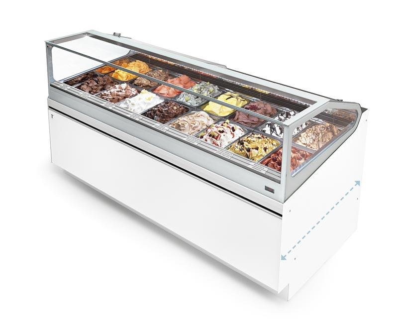 Witryna do lodów | IFI SAM80