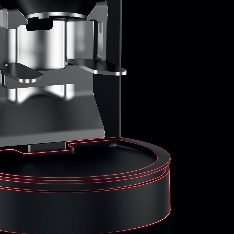 Mielenie kawy bezpośrednio do łyżki za pomocą systemu wag Mahlkönig E65S GbW