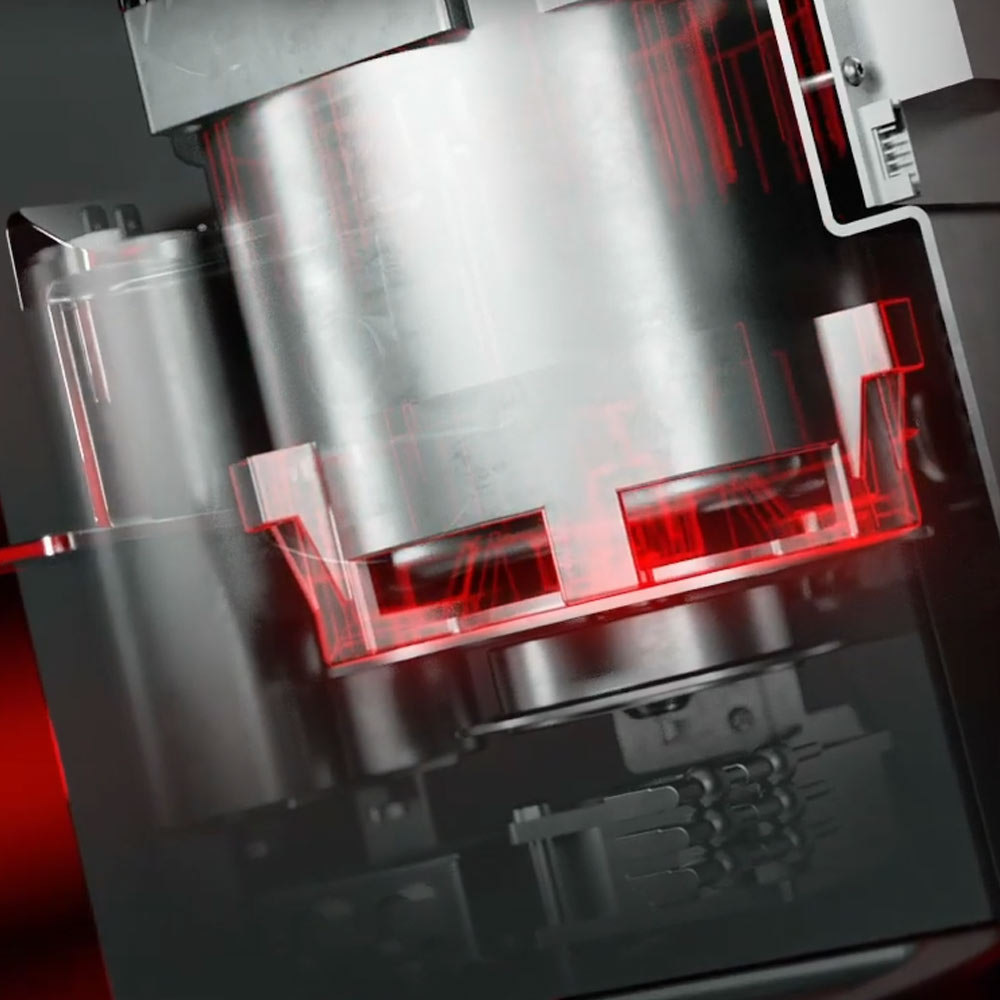 Mahlkönig E80 Supreme Innowacyjna kontrola temperatury silnika