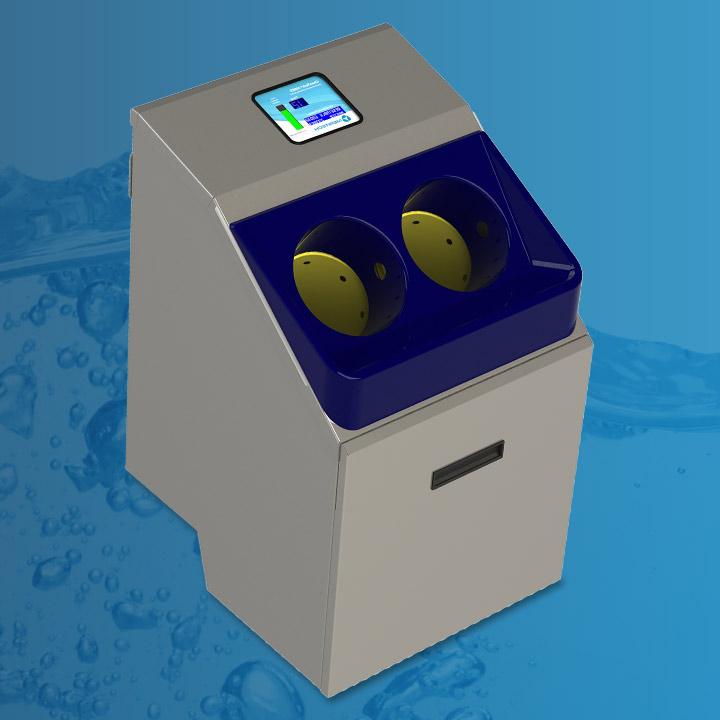 Automatyczna dezynfekcja rak Meritech CleanTech 500EZ
