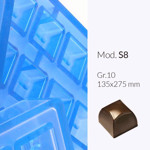 Formy do produkcji czekoladek 135 x 275 mm