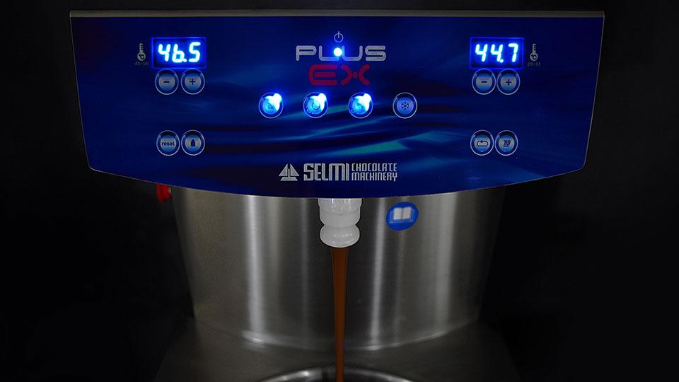 Panel sterowania temperówki do czekolady Selmi Plus EX