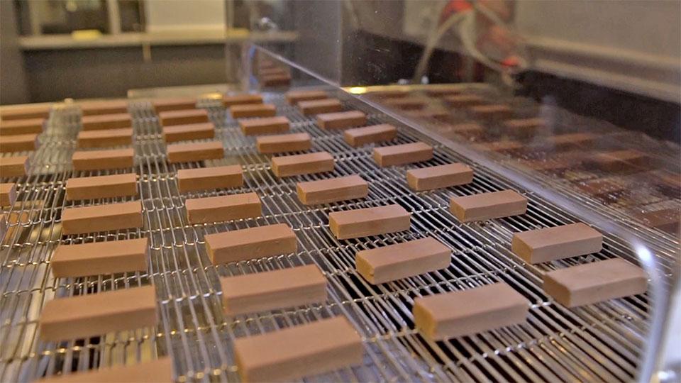 Linia produkcyjna do czekolady Selmi