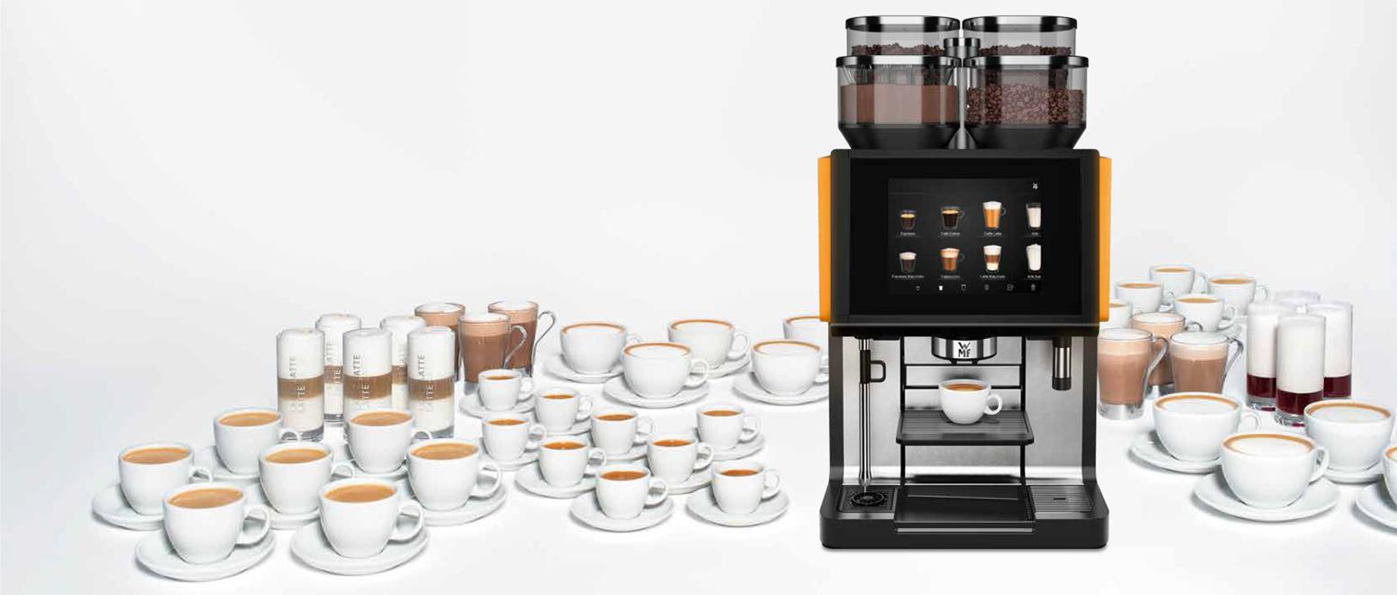 WMF 9000 s+ Automatyczny ekspres do kawy