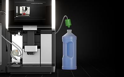 Automatyczne czyszczenie profesjonalnego ekspresu do kawy WMF