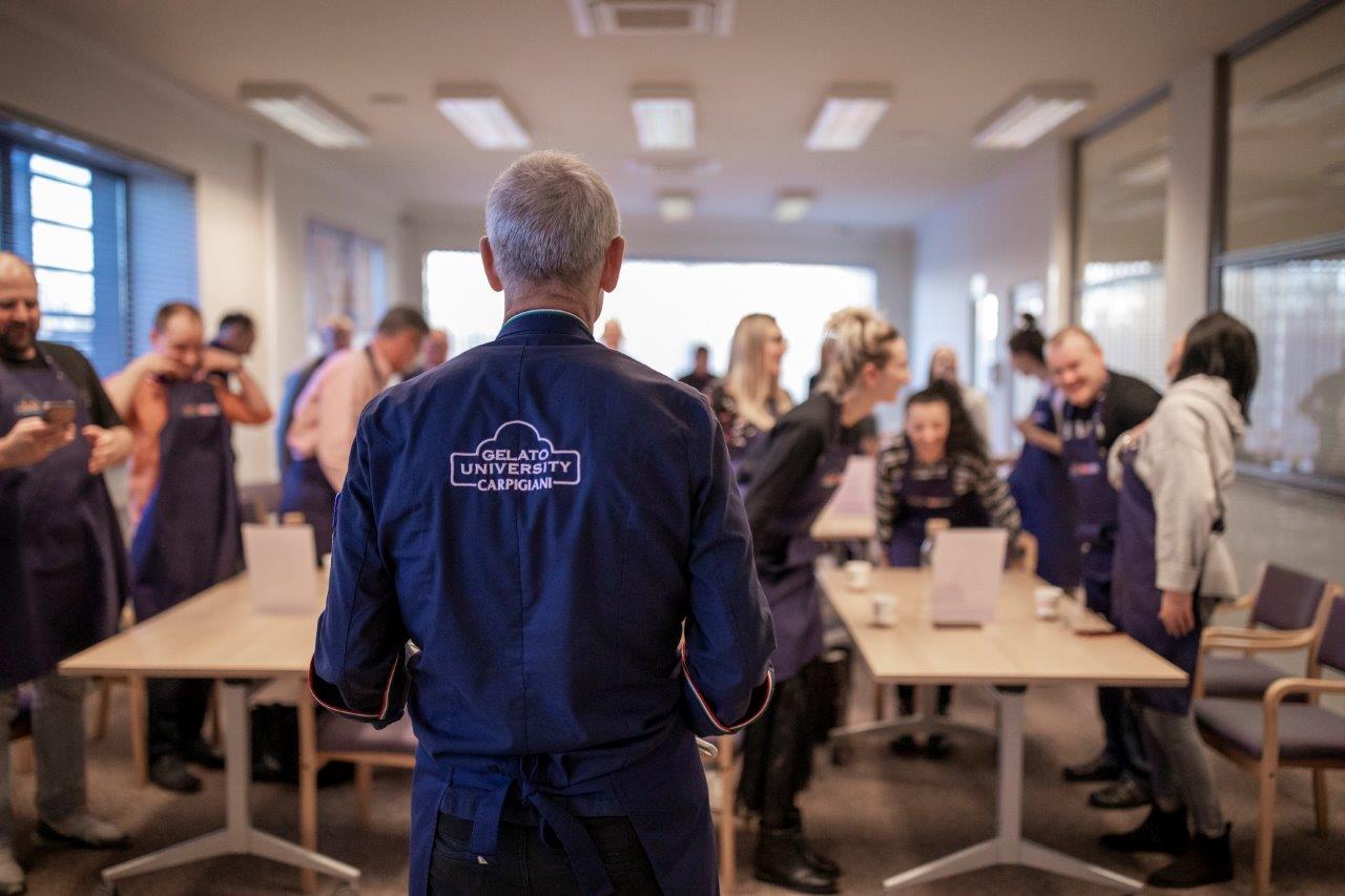 Luciano Ferrari Technolog szkoleń lodziarskich Carpigiani