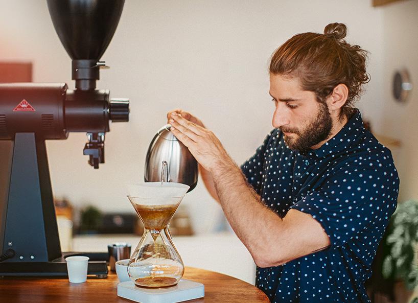 Parzenie kawy w domu Chemex